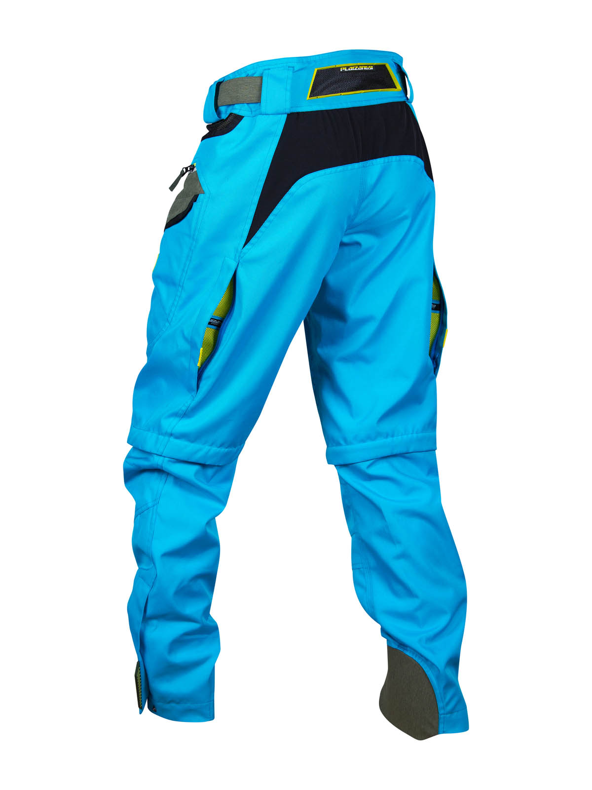 platzangst Bulldog II Fahrradhose Herren Hose lang Blau MTB Pant